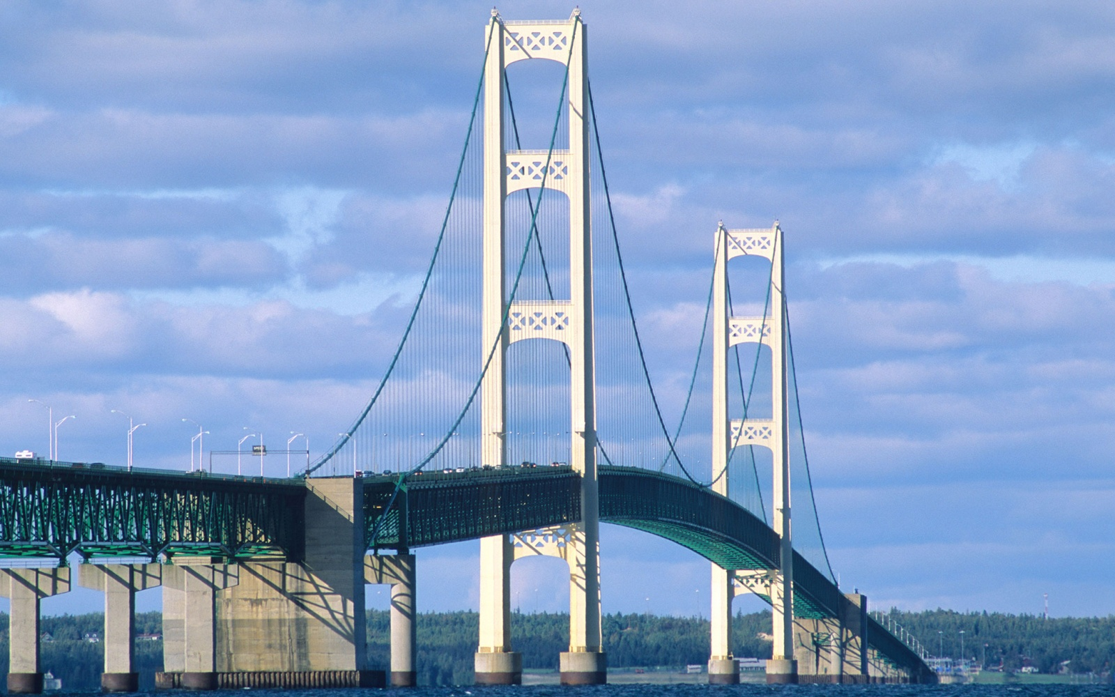 Mackinac Bridge, Mackinaw City, Michigan