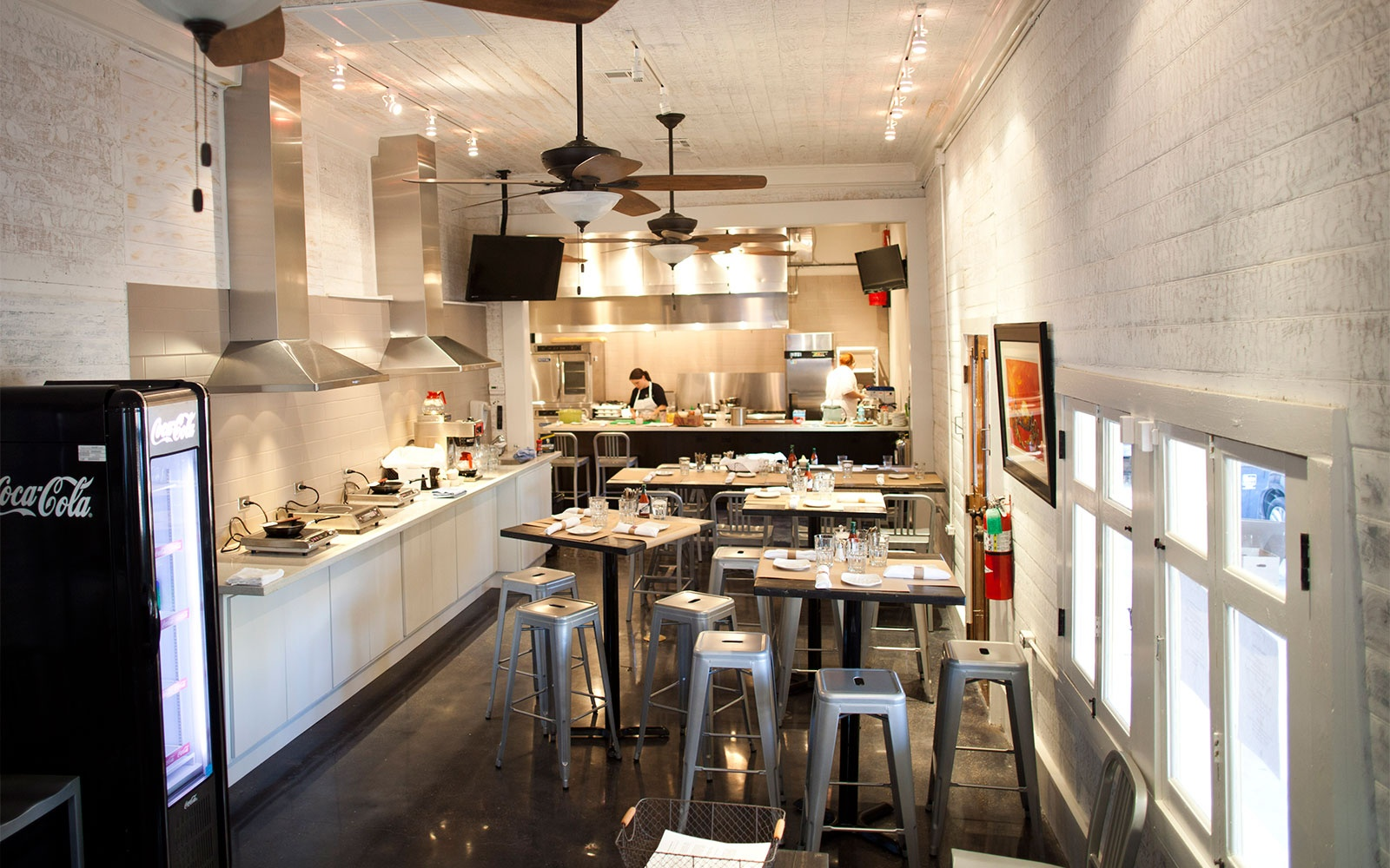 kitchen in Langlois Culinary Crossroads, New Orleans