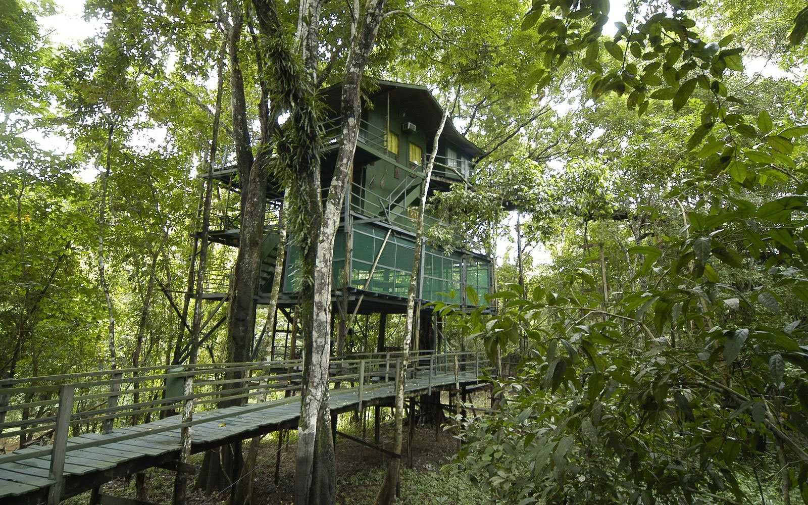 Ariau Amazon Towers Hotel, Brazilian Amazon