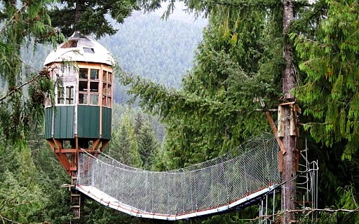Cedar Creek Treehouse Ashford Washington & Worldu0027s Coolest Tree-House Hotels | Travel + Leisure