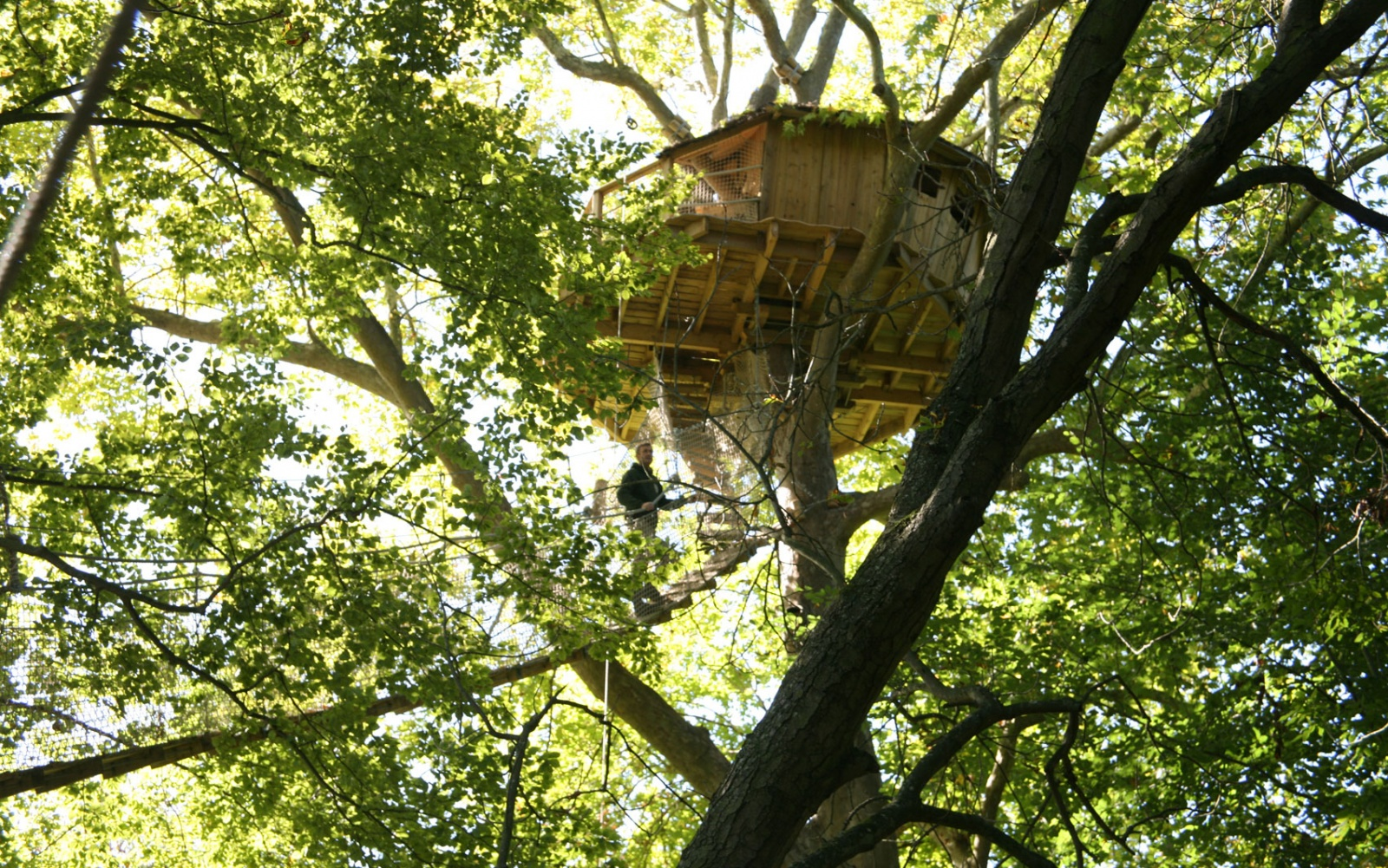 La Cabane en L'Air tree house hotel, France