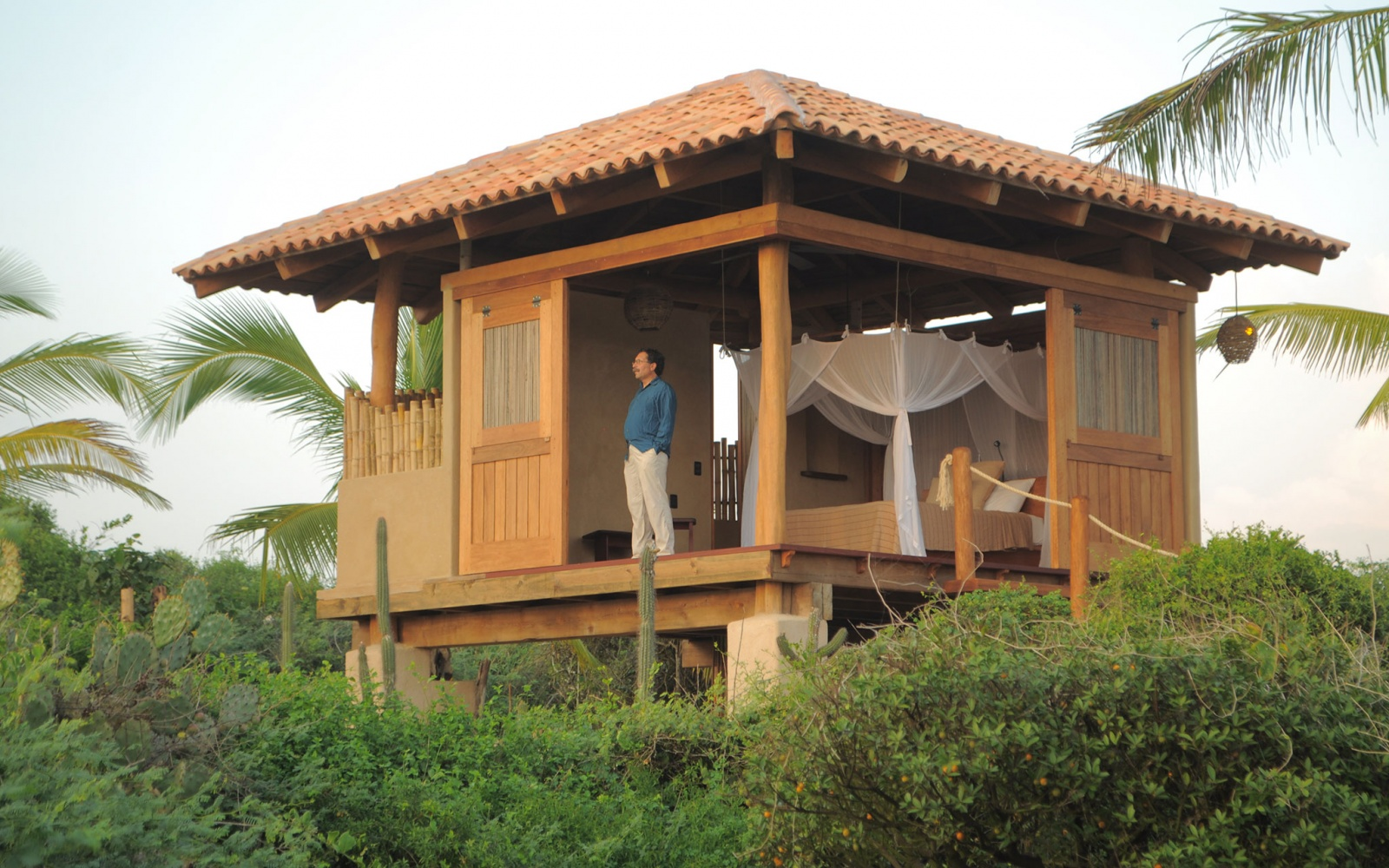 Playa Viva tree house hotel, Juluchuca, Mexico