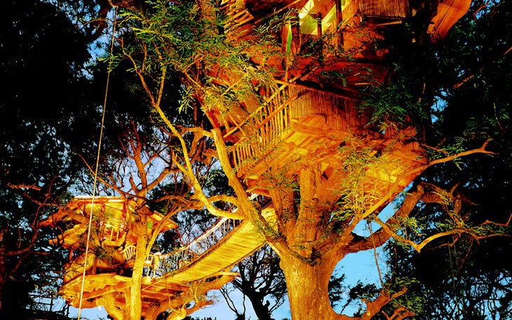 Sanya Nanshan Treehouse, Hainan Island, China