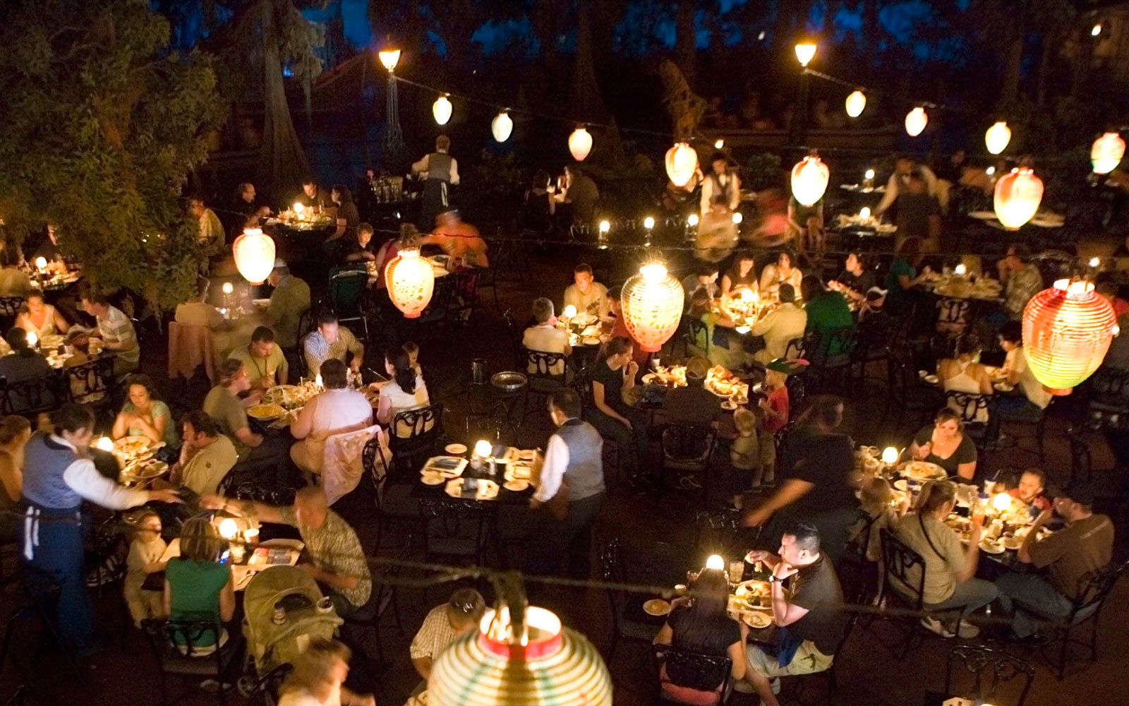 Blue Bayou Restaurant at Pirates of the Caribbean, Disneyland CA