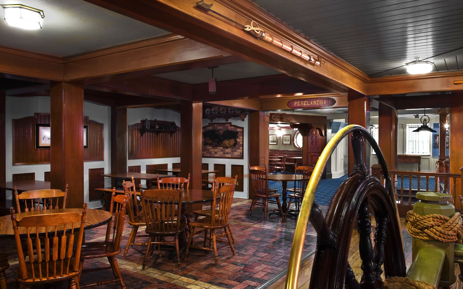 Columbia Harbour House restaurant at Disney World, FL