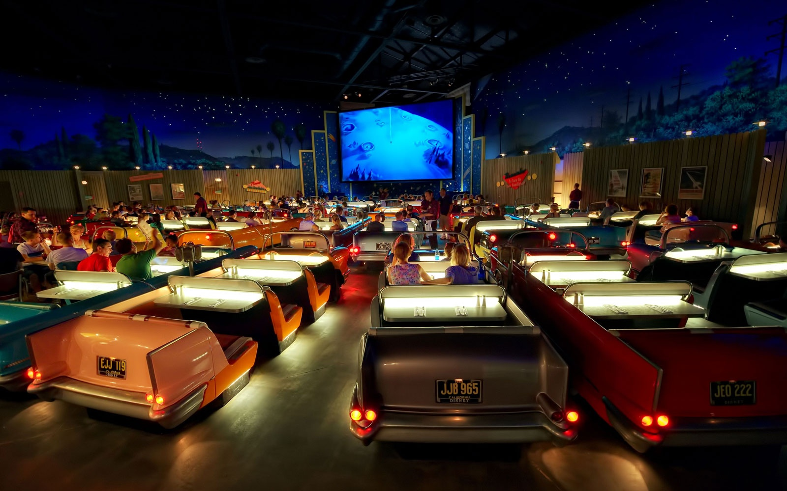 Sci-Fi Dine-In Theater Restaurant, Disney's Hollywood Studios