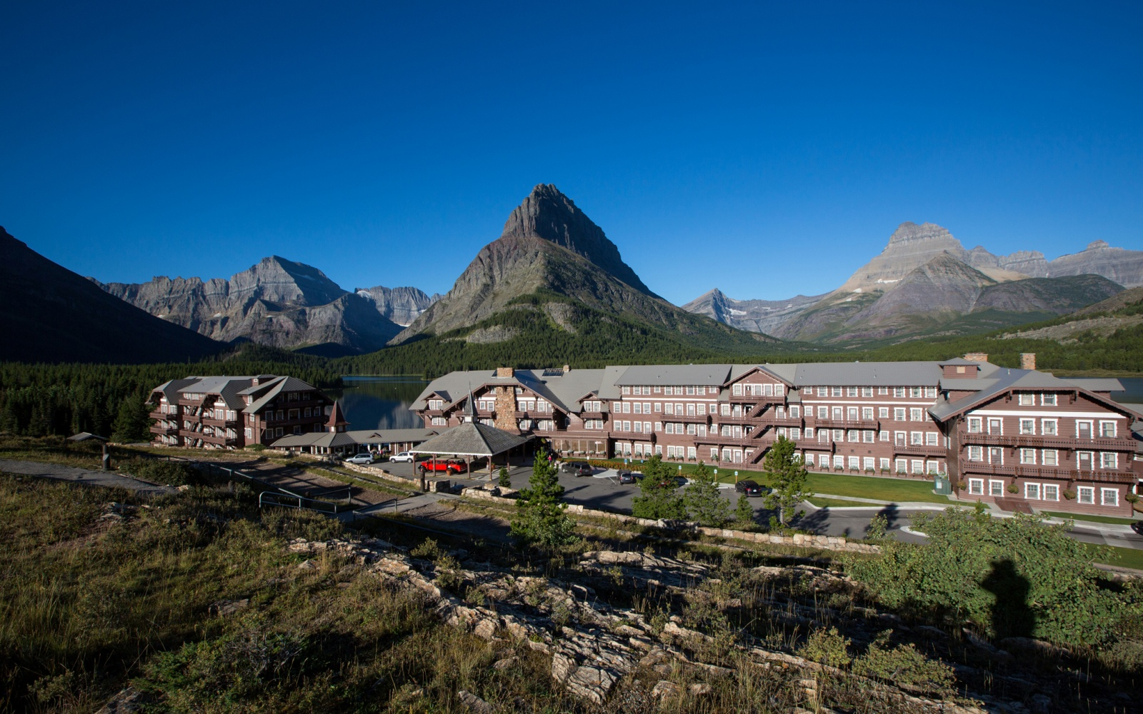Many Glacier Hotel, Glacier National Park, MT