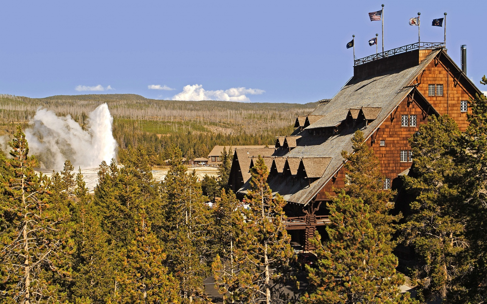 Old Faithful Inn, Yellowstone National Park, WY