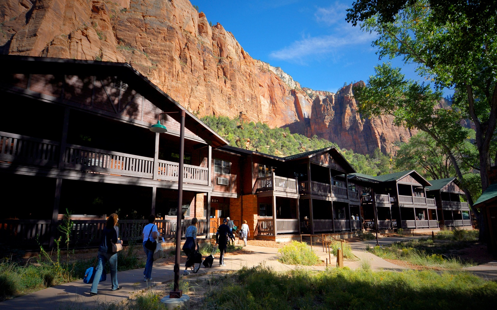 Zion Lodge, Zion National Park, UT