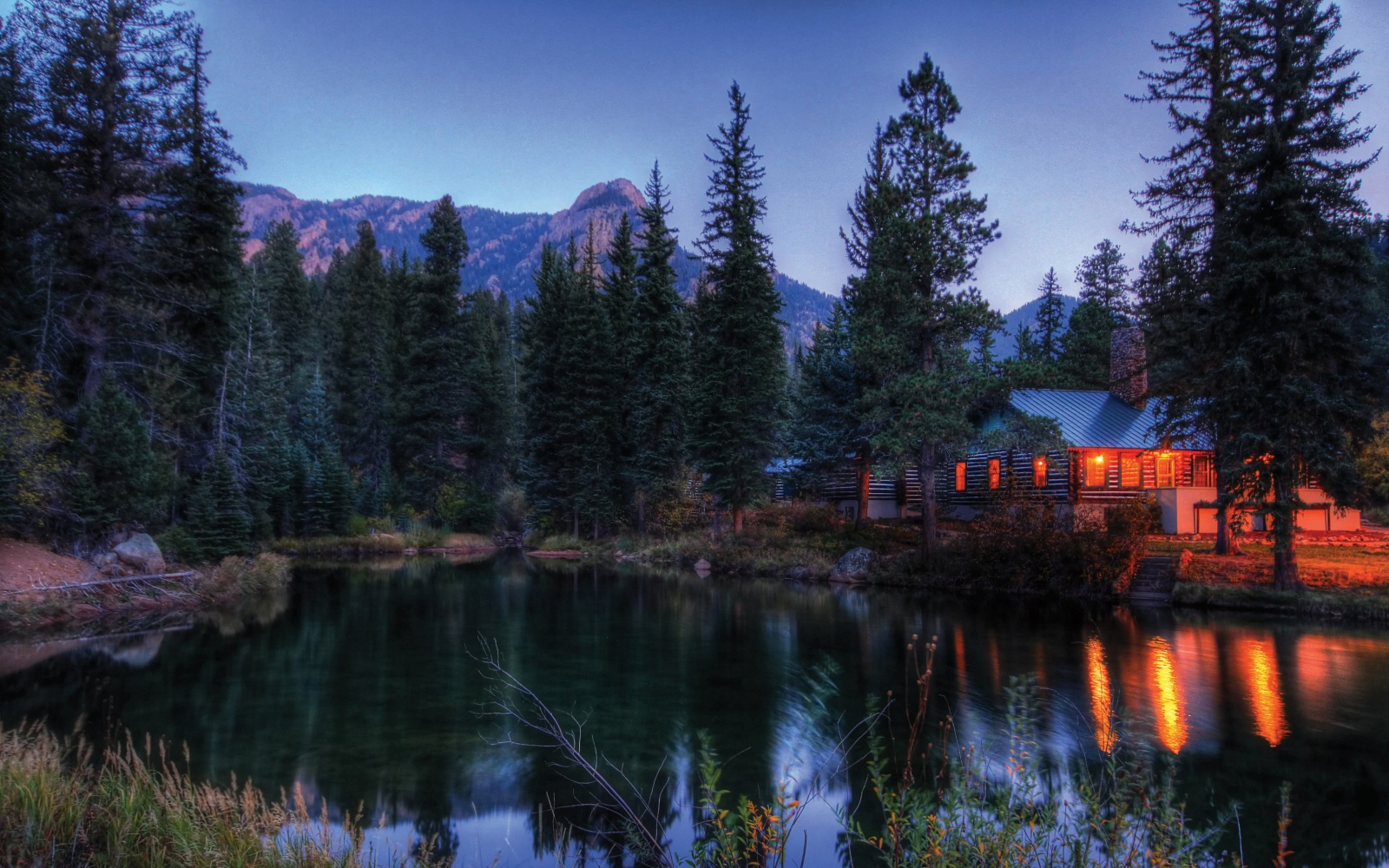 lakeside cabin at The Ranch at Emerald Valley, Colorado