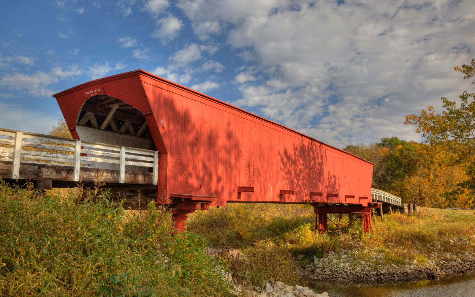 Roseman Covered Bridge, Winterset, IA