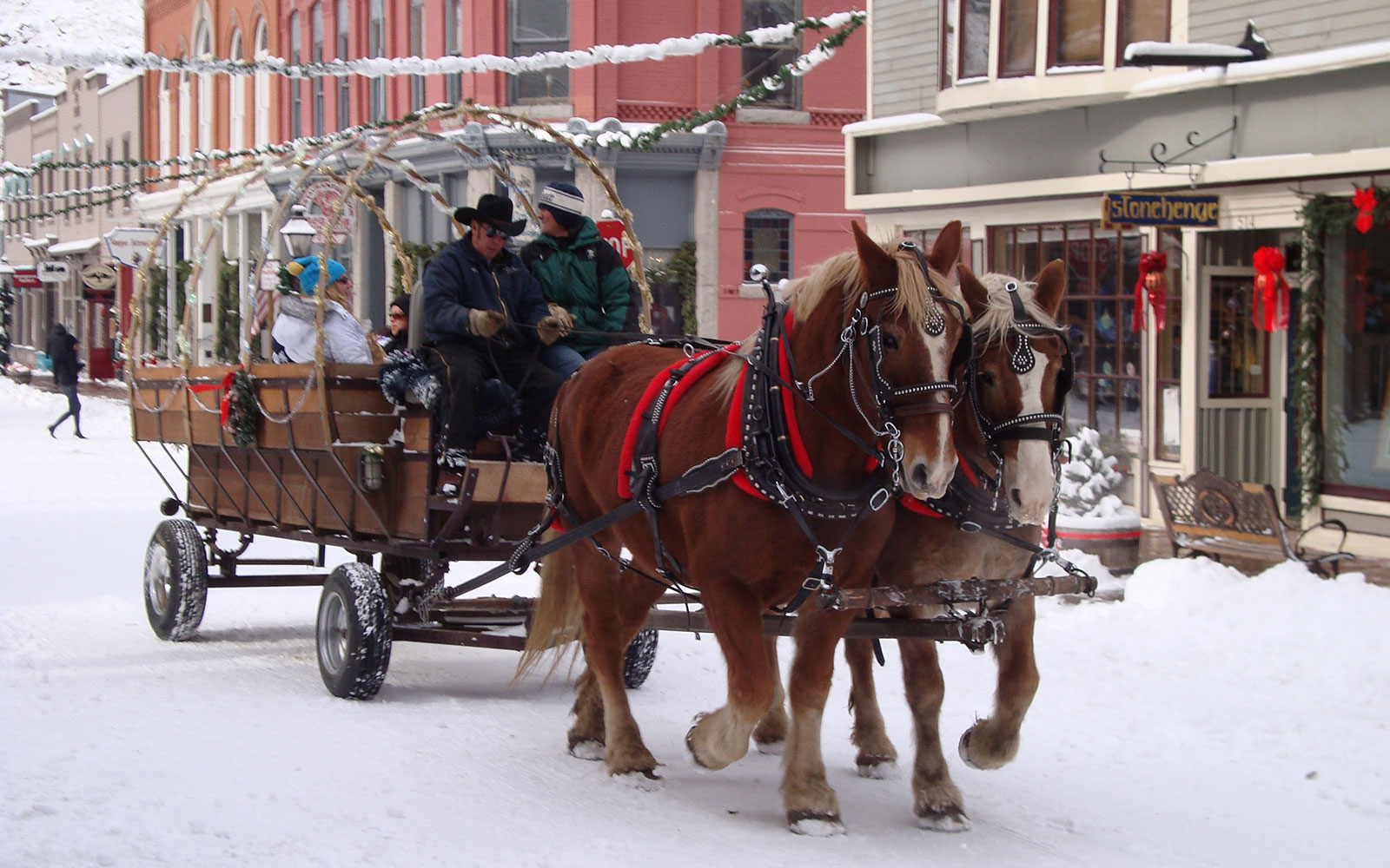 Georgetown Christmas Market, CO