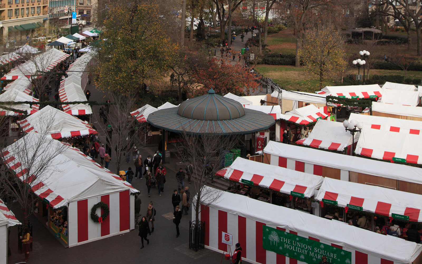 Union Square Holiday Market, New York City