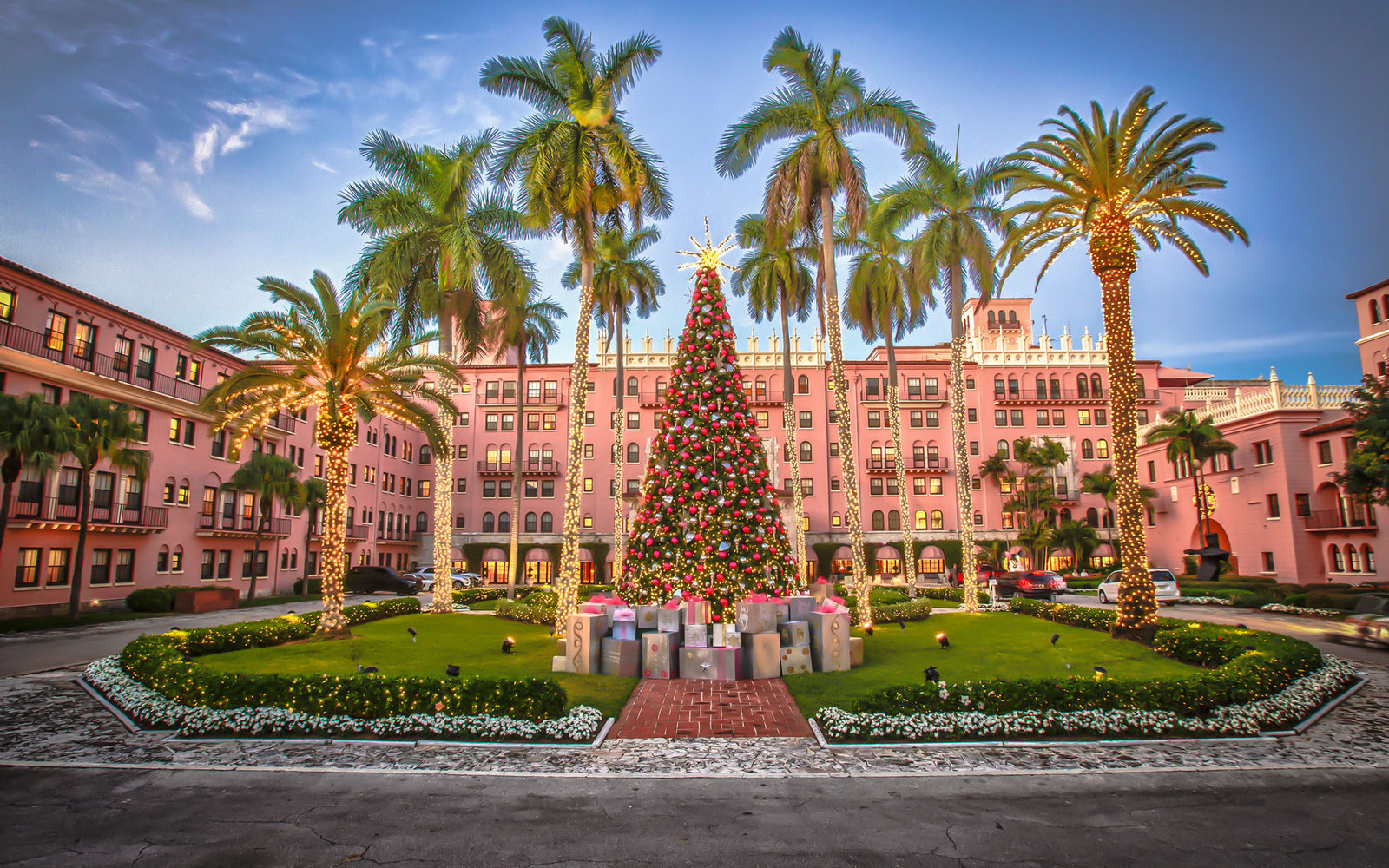 america's best hotels for christmas | travel + leisure