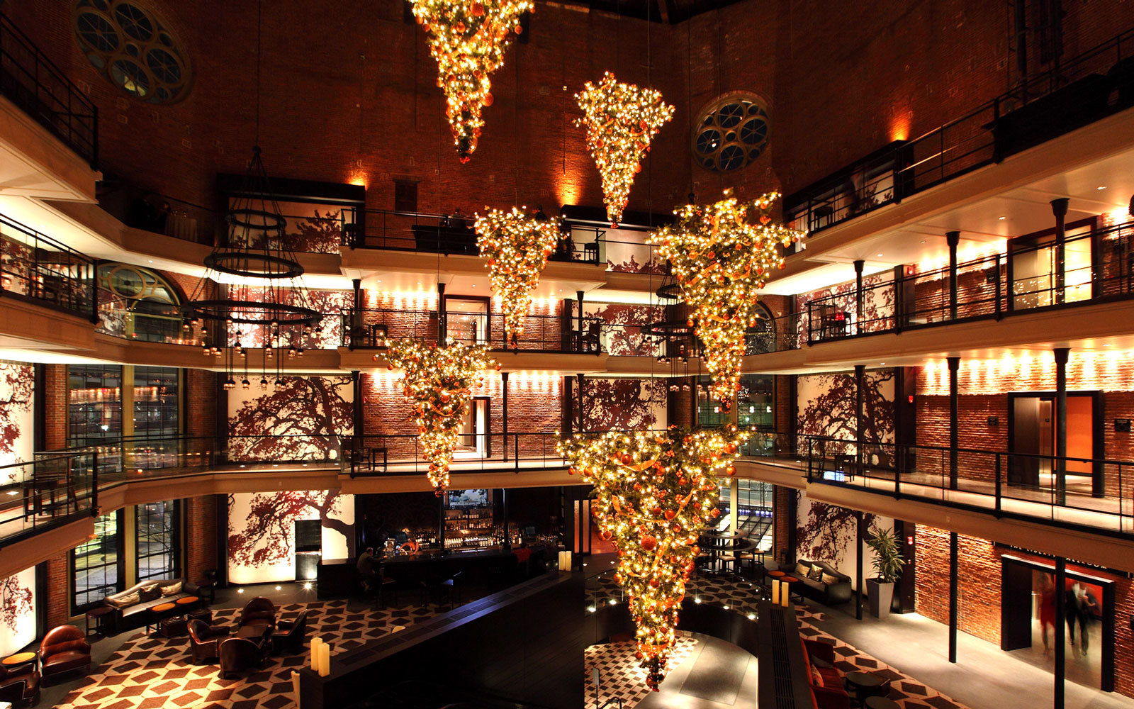 america 39 s best hotels for christmas travel leisure