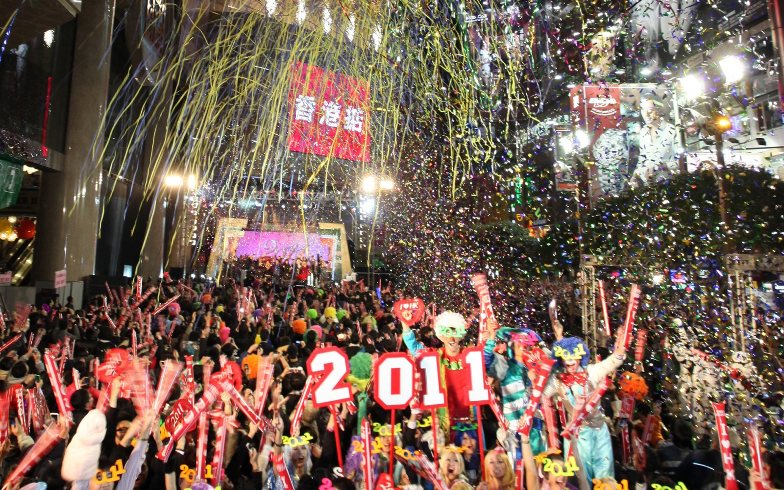 Hong Kong new year's eve destinations