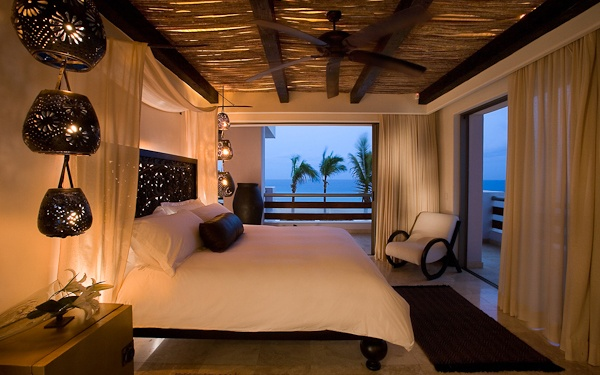 guest room at Cabo Azul beach Resort in San José del Cabo, Mexico
