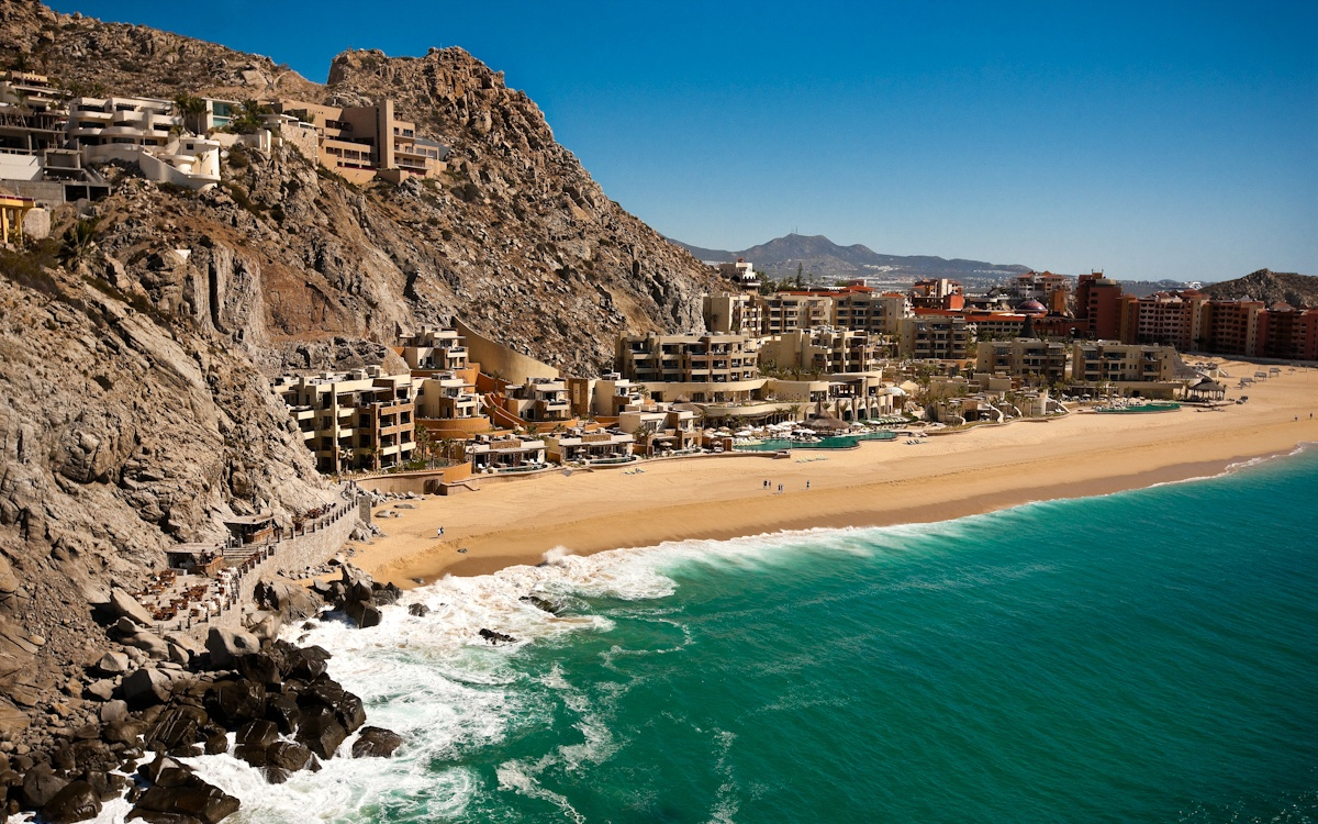 The Resort at Pedregal Mexican beach resort
