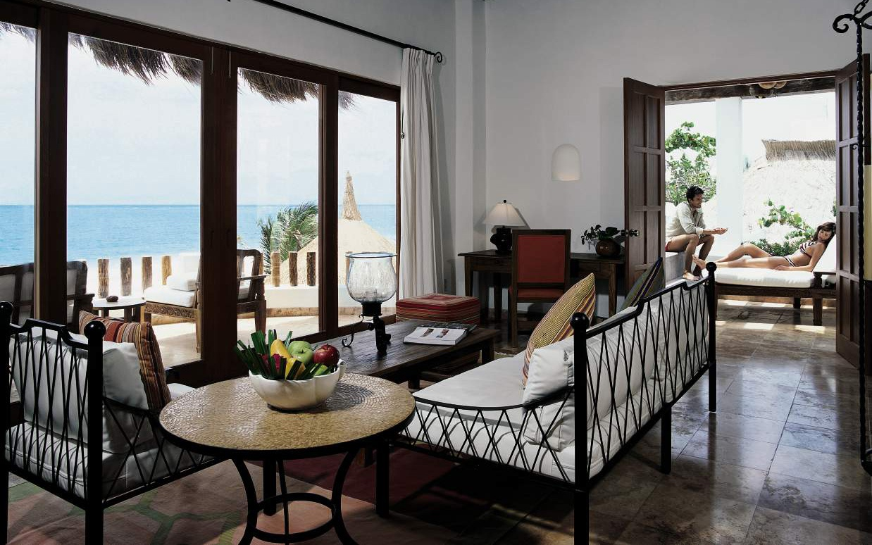 guest room at Belmond Maroma Resort & Spa, Riviera Maya