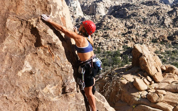 Rock Climbing in Joshua Tree, CA
