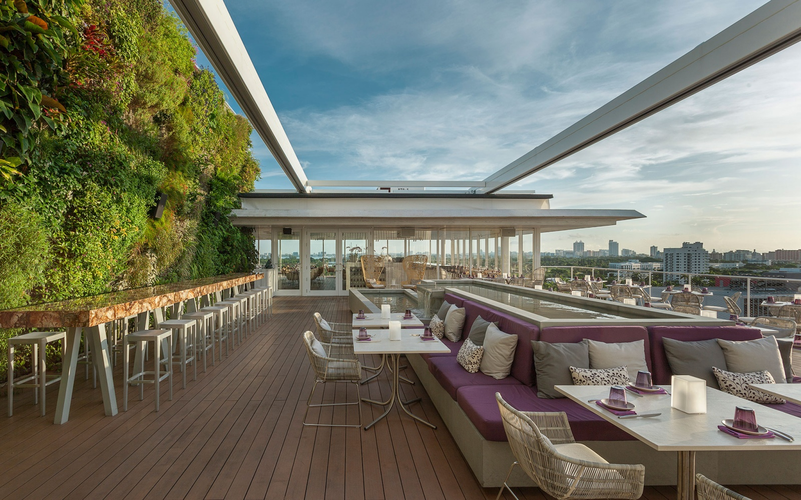 America s coolest rooftop bars travel leisure for Architect florida