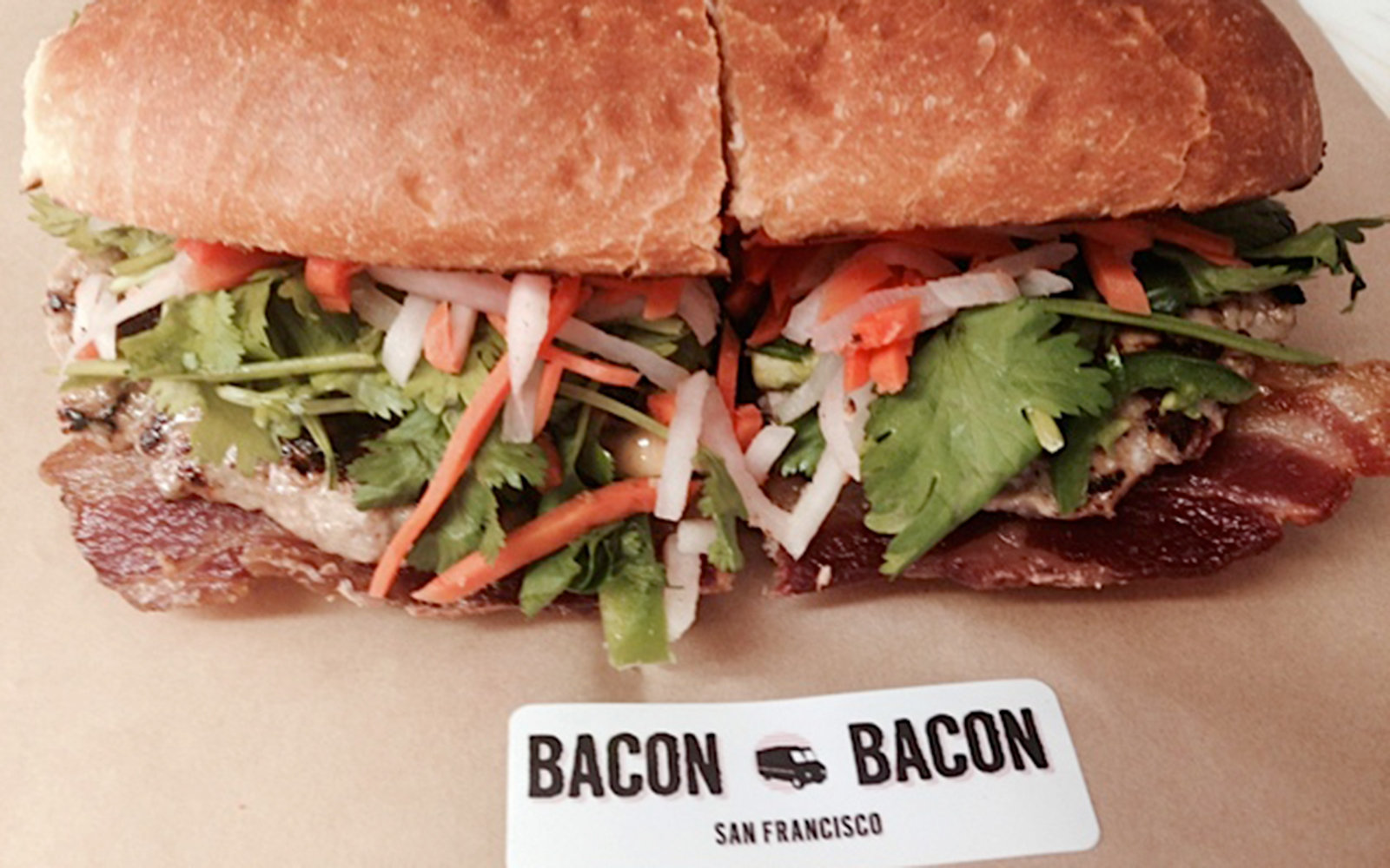 Bacon on Wheels: Bacon Bacon, San Francisco
