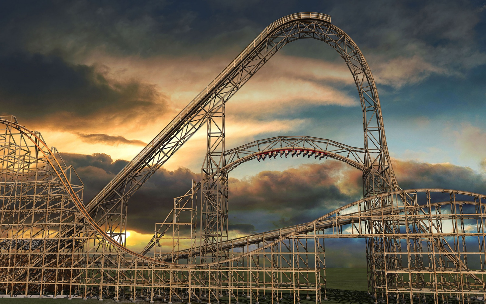 Ride the Newest Roller Coasters