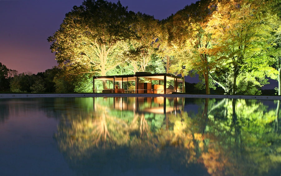 Put Philip Johnson's Glass House in a Fresh Perspective