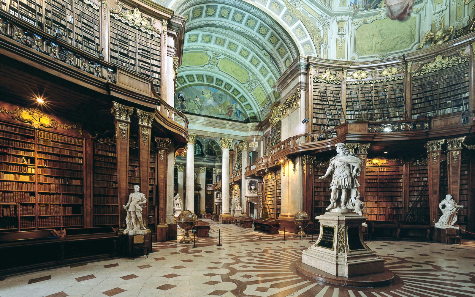 The most unusual libraries in the world, which are beautiful both inside and outside
