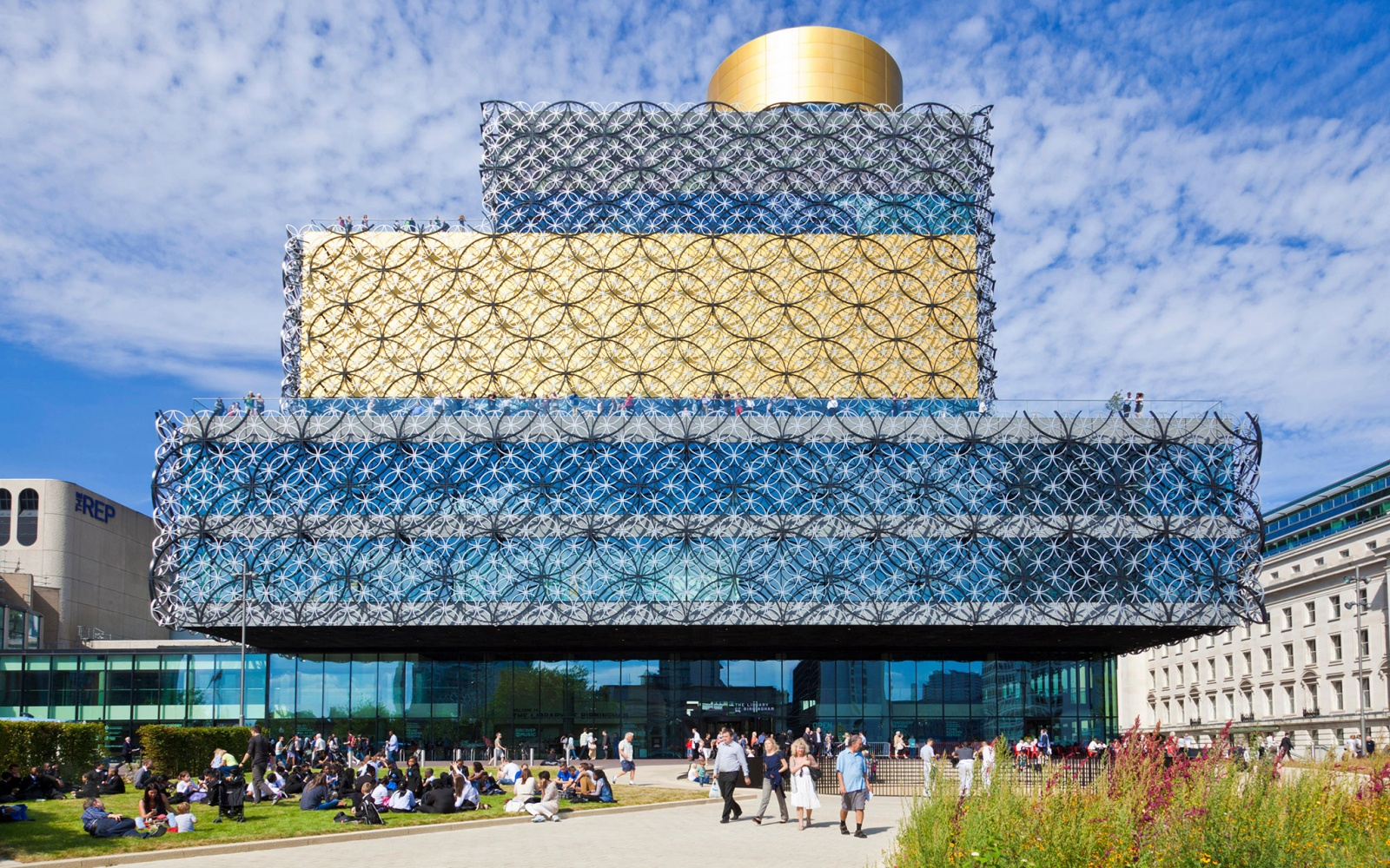 Library of Birmingham, England