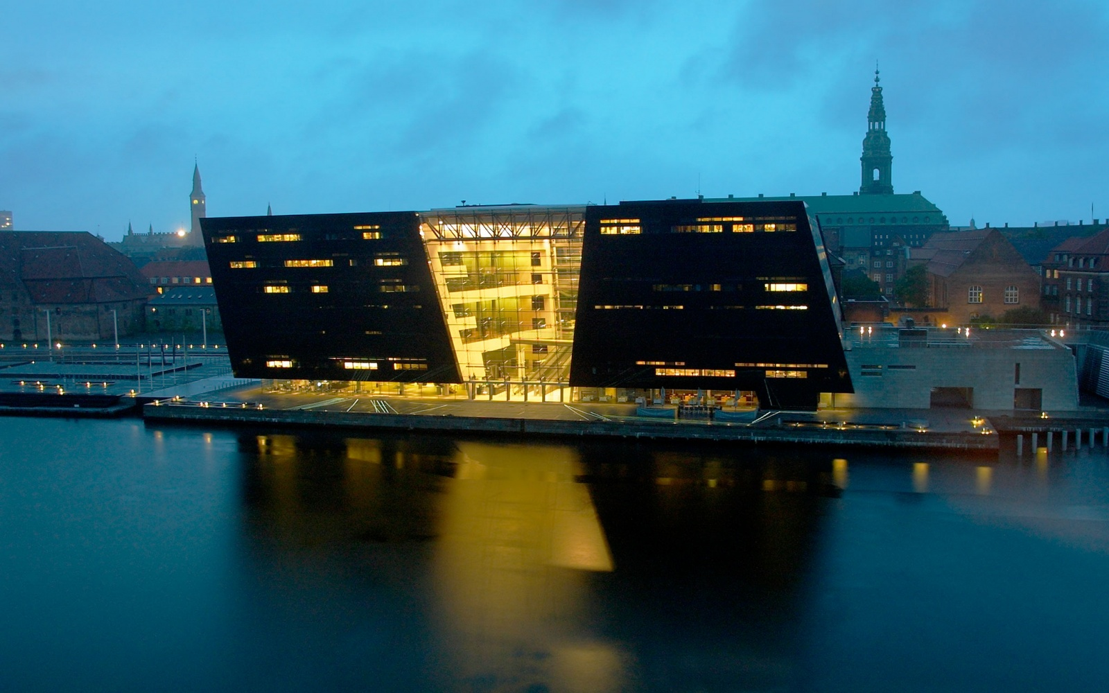 The Royal Library Copenhagen, Denmark