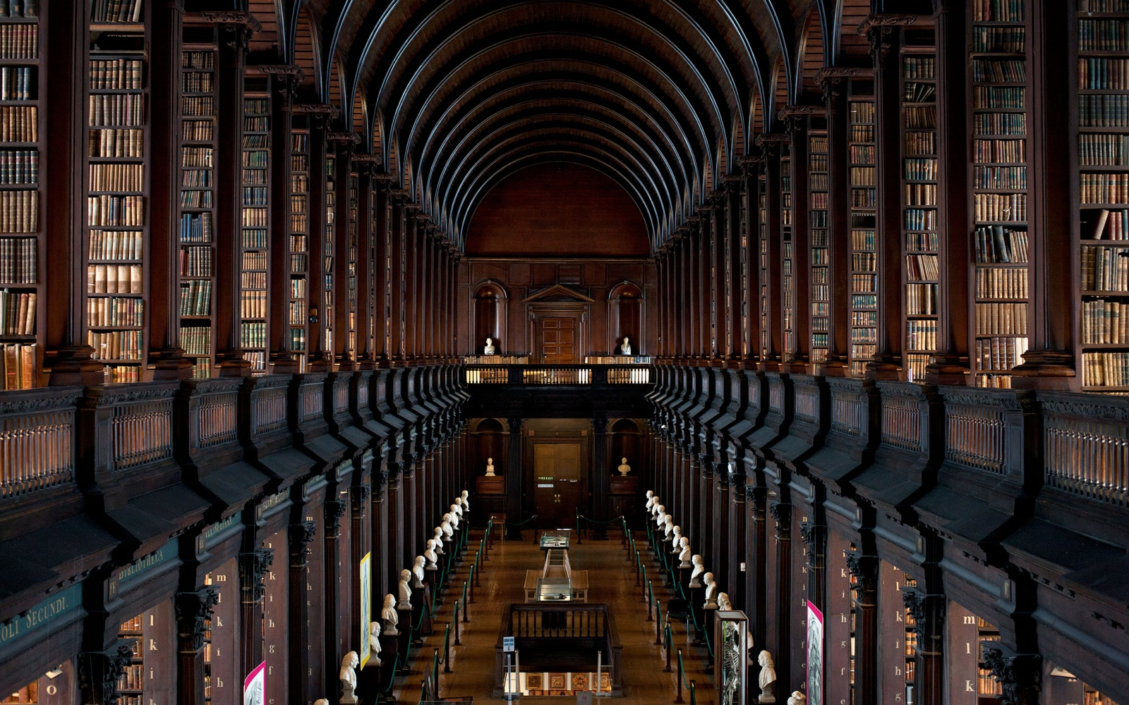 libraries so beautiful they ll bring out the bookworm in  trinity college old library dublin
