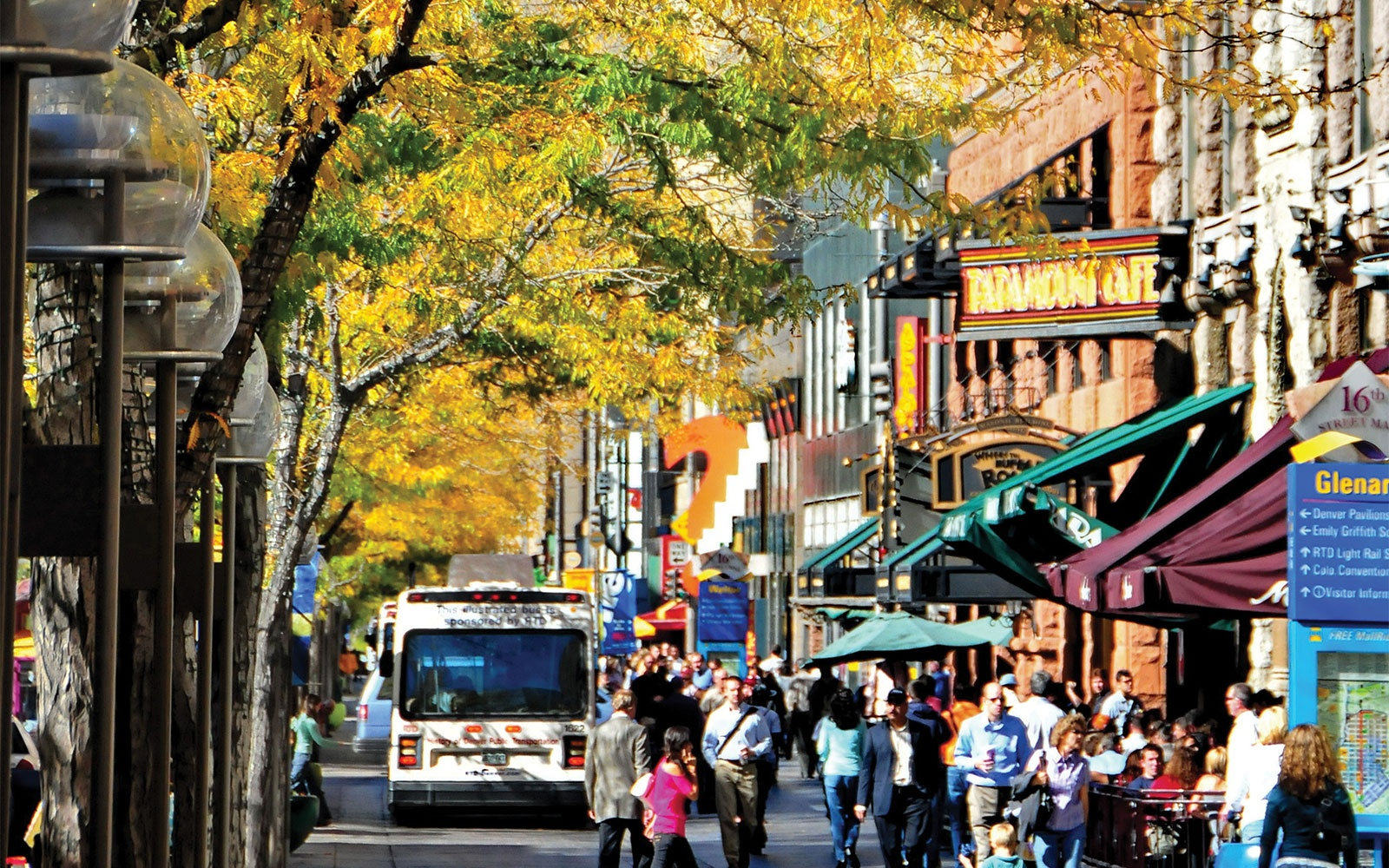 Denver, Colorado in the fall