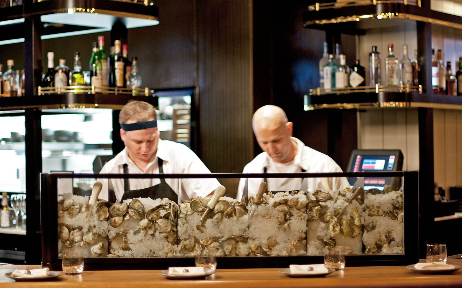 Best oyster bars in america travel leisure for Public fish and oyster