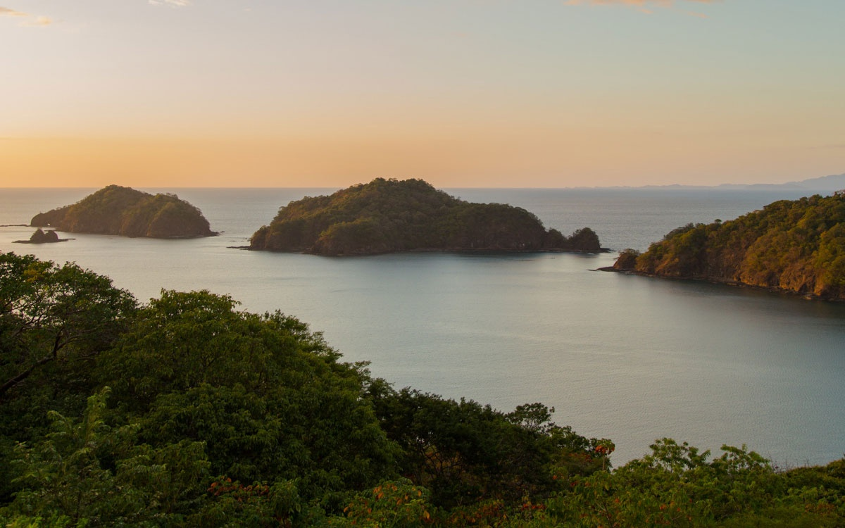 Coastal Islands in Costa Rica