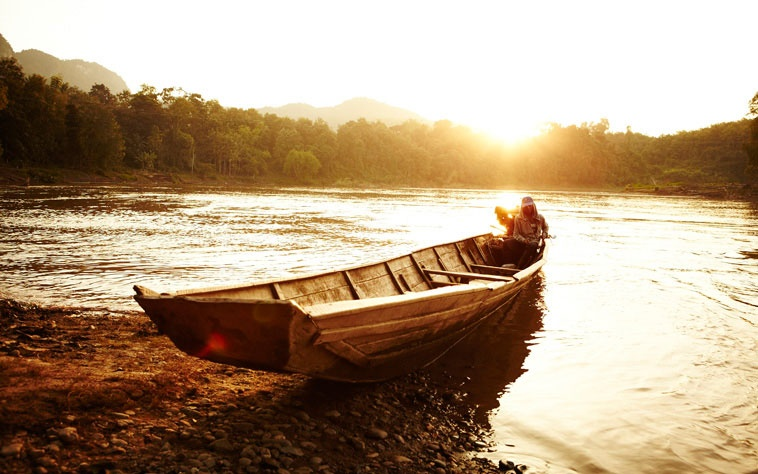 Mekong River, Laos