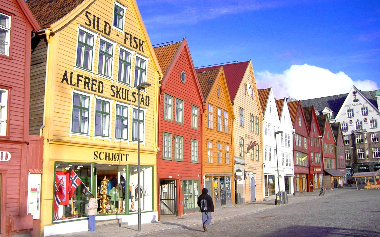 Solo Travel in Norway Village