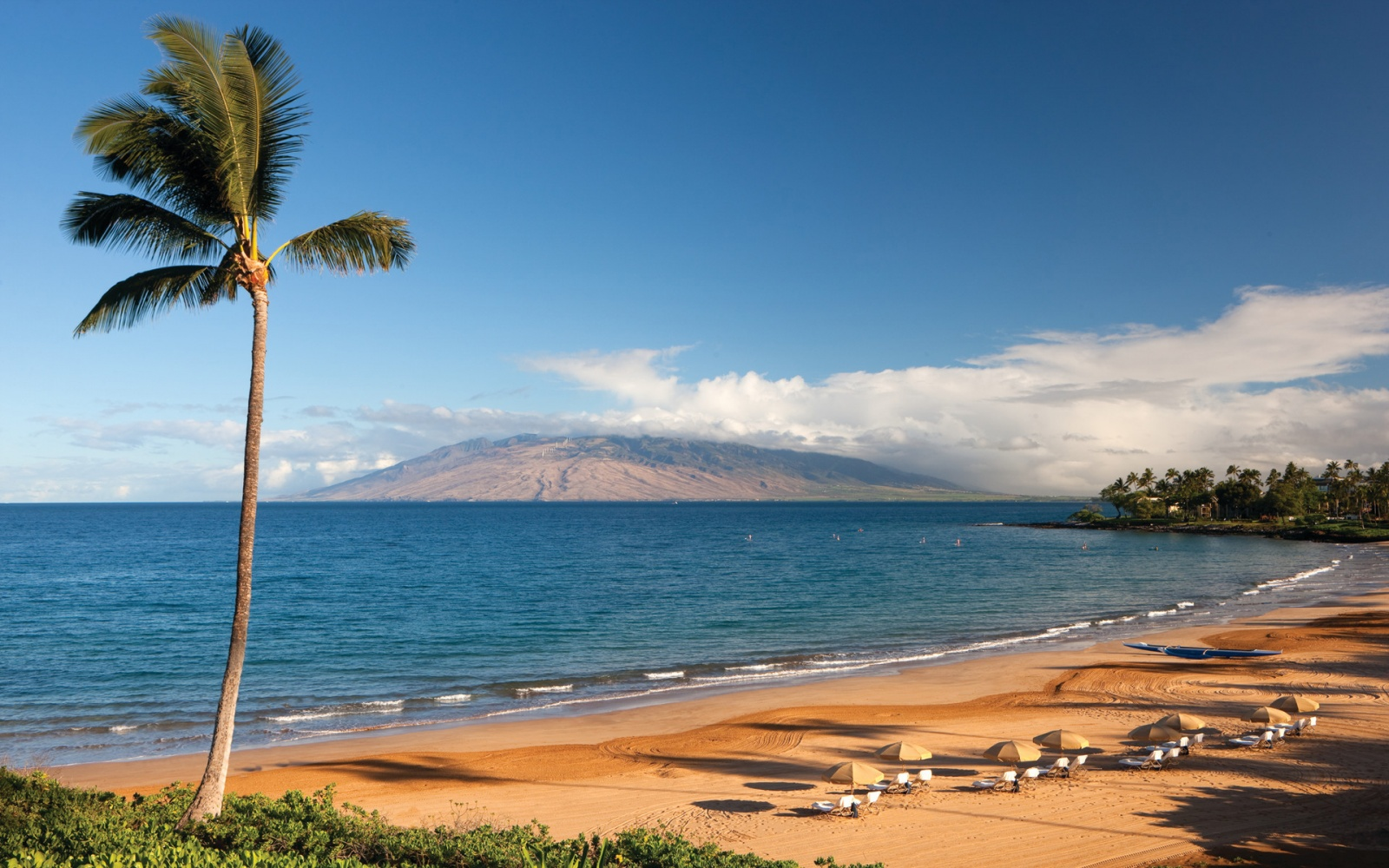 Wailea, and the smaller Makena to the south, are resort areas on the south side of Maui, Hawaii, immediately south of the town of Kihei. They are known for their luxury resort hotels and condos, upscale restaurants, fancy shopping center and expensive golf courses.