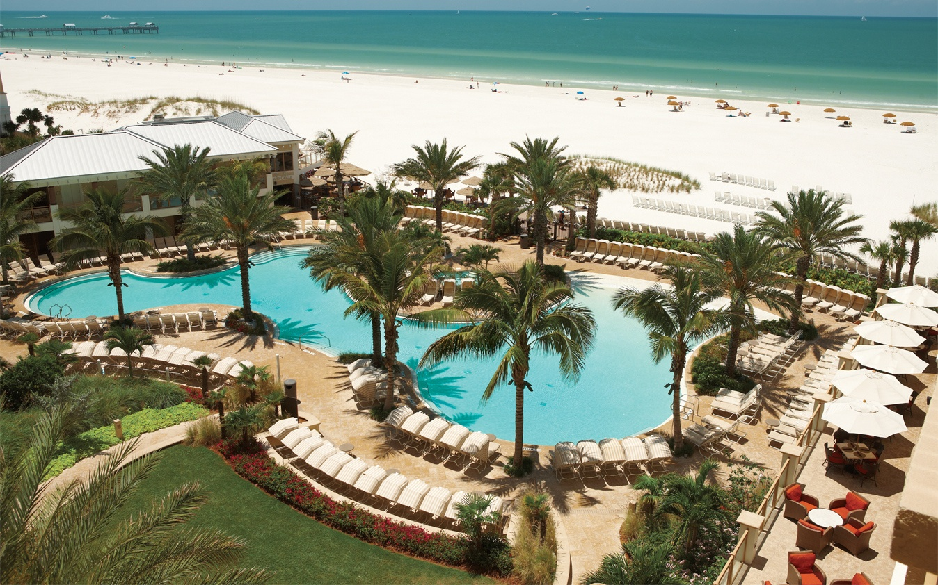 10 Tie Sandpearl Resort Clearwater Beach Fl