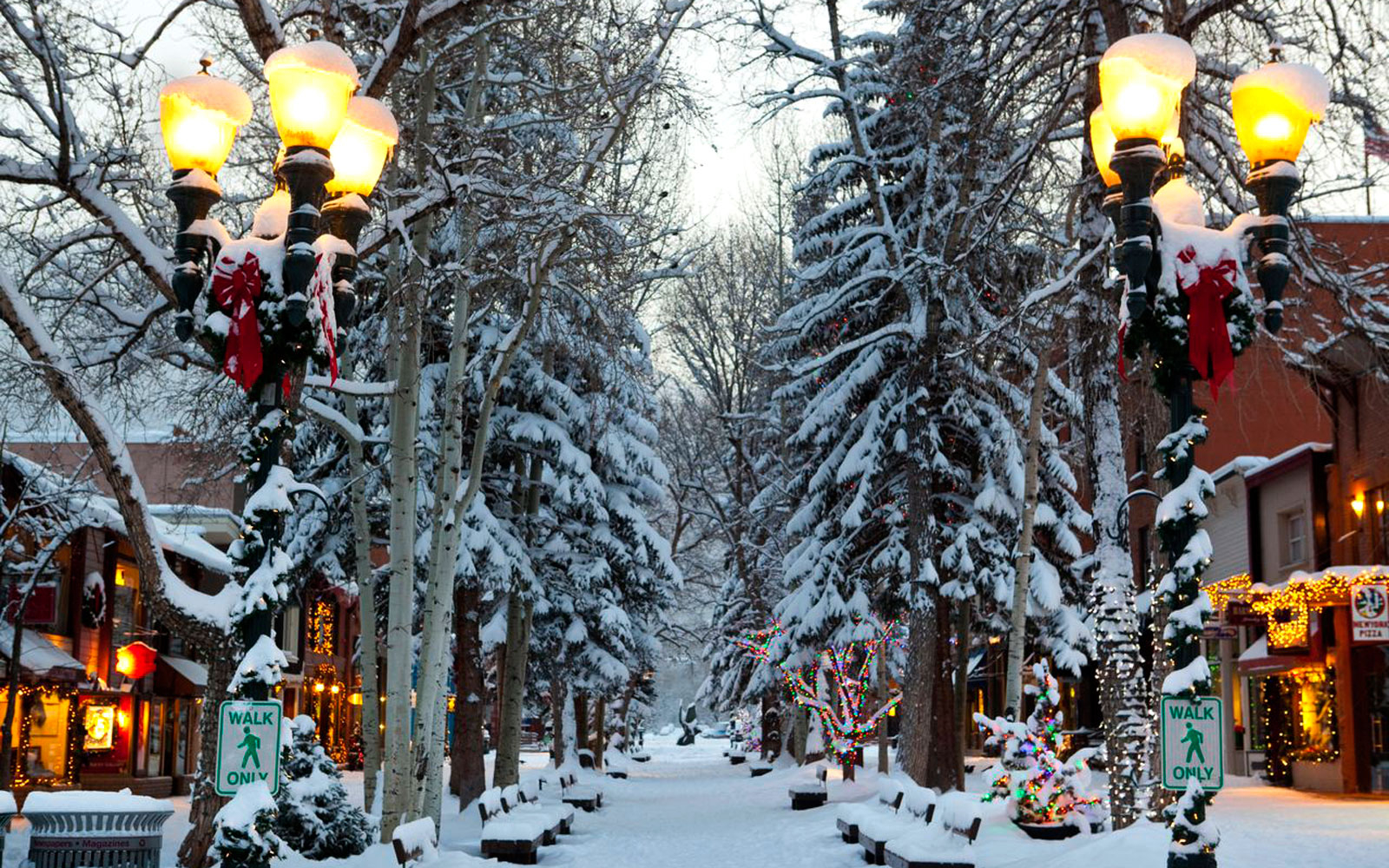 Best places to travel in winter in usa