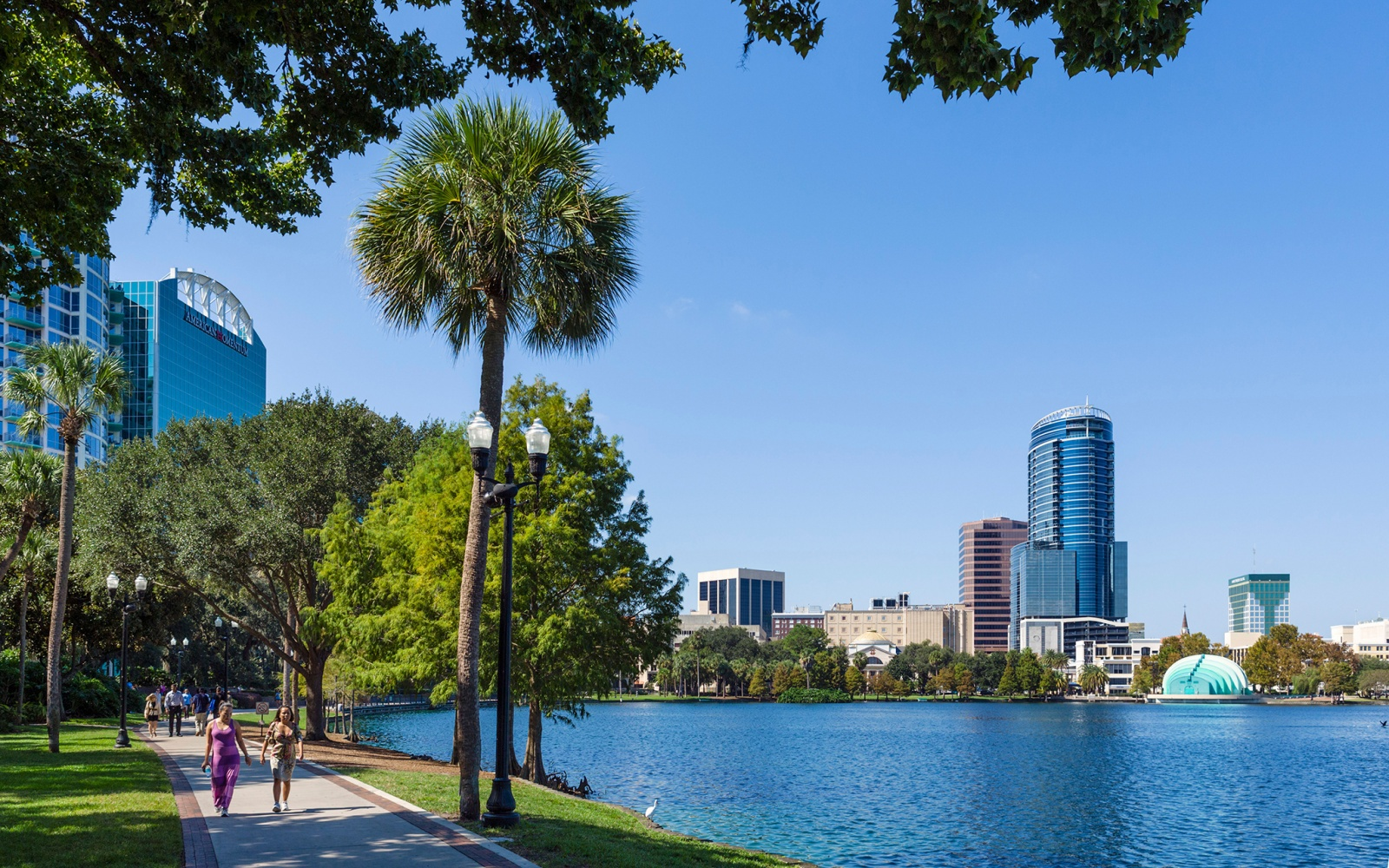 waterfront park in Orlando, FL