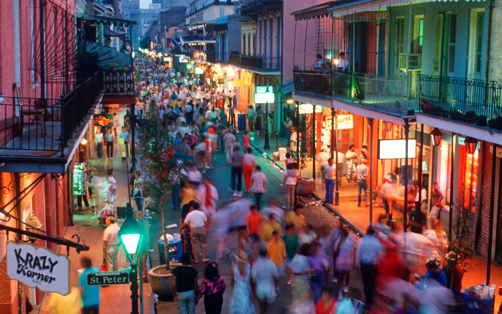 Tourism in New Orleans Travel – New Orleans French Quarter Tourist Map