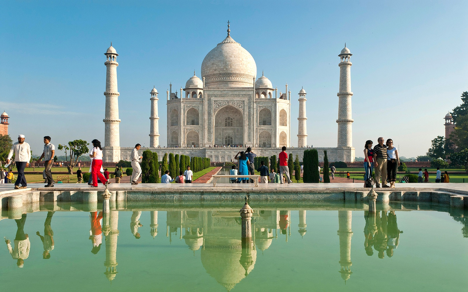 The Taj Mahal Now Has Free Wi Fi Travel Leisure