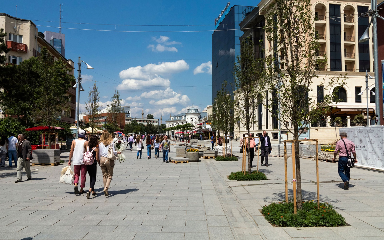 Best places to travel in 2015 travel leisure pedestrain walkway in pristina kosovo publicscrutiny Choice Image