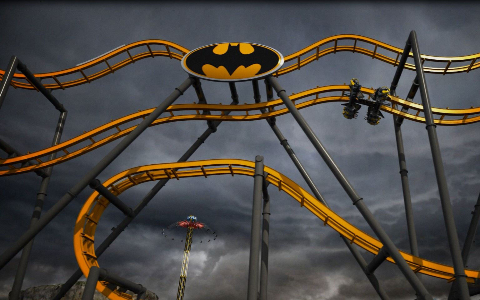 Batman: The Ride, Six Flags Fiesta Texas, San Antonio, TX