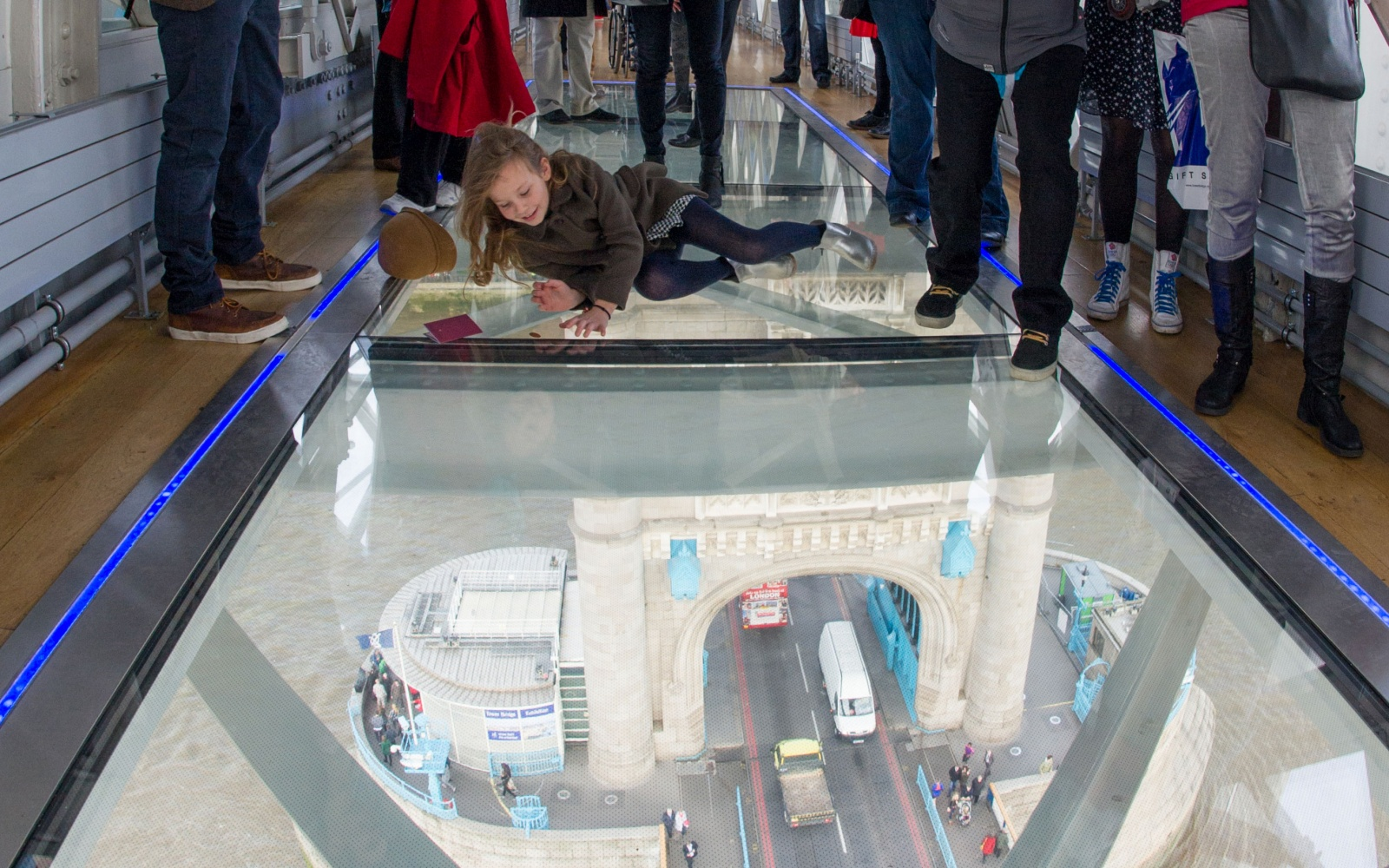 Tower Bridge Glass Floor, London