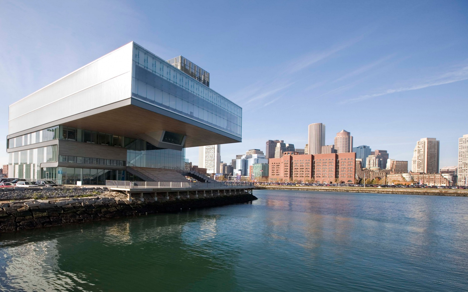 Institute of Contemporary Art by the bay in Boston, MA