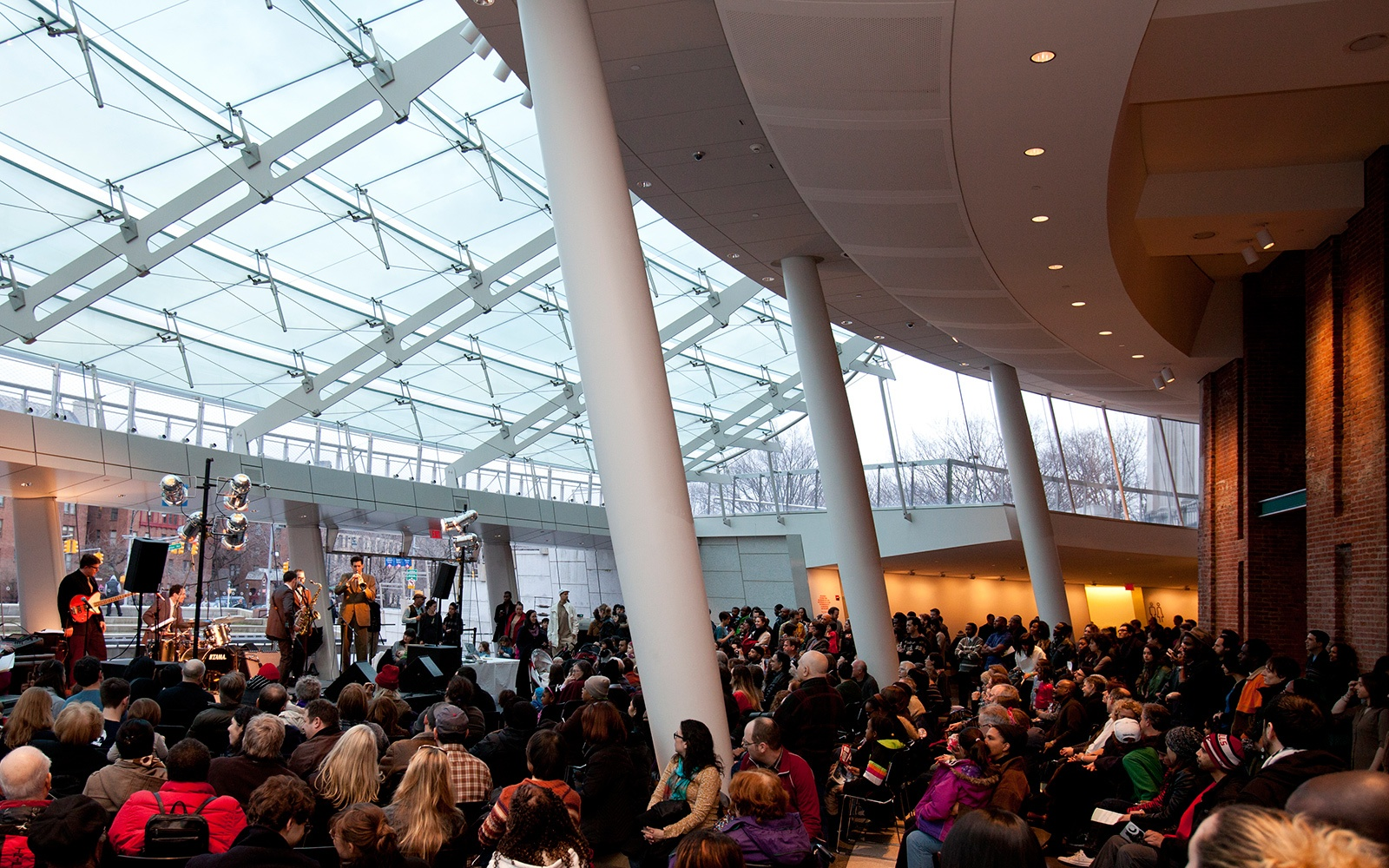 live concert at Brooklyn Museum, NY