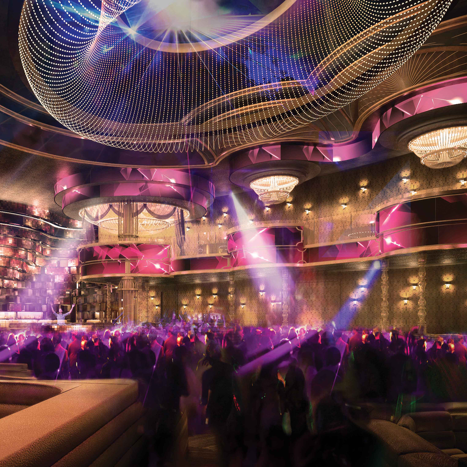 Over The Top Omnia Nightclub es to The Strip This Spring