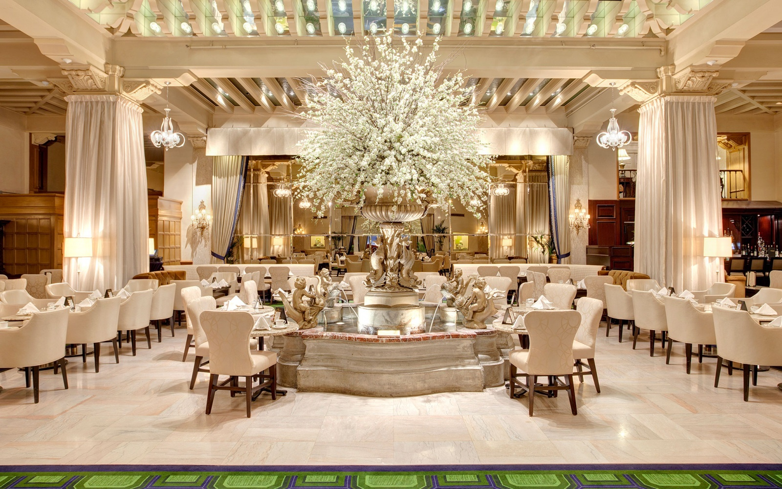 The Palm Court at the Drake, Chicago